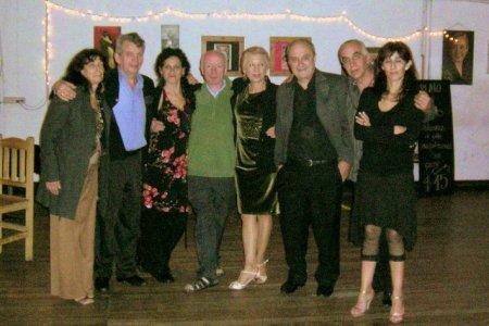 Invitados de lujo, Alfredo y Silvia Alonso con amigos